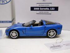Franklin Mint 1:24 Diecast 2008 Corvette LS3 C6 Coupe S11F564 - 364/430 RARE