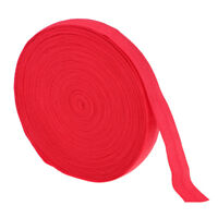 Red 11 Yds Stretch Flat Elastic Waist Band Woven Sewing Trouser Dressmaking