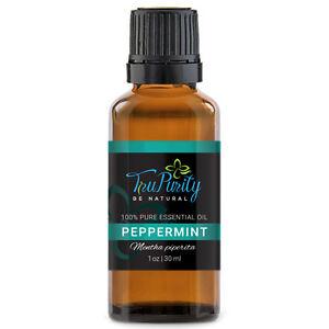 PEPPERMINT TruPurity Essential Oils 30 ml Therapeutic Grade (Black Label)