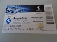 BILLET DYNAMO KIEV v PARIS SG psg france 21/11 2012 football uefa CL ticket