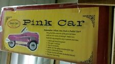 Classic Pedal Car Instep Pink Lady Girls Ride On - New in Box