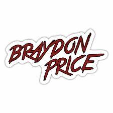 Braydon Price Logo Sticker
