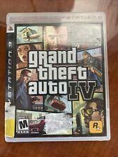 New listing Grand Theft Auto Iv Gta 4 - PlayStation 3 Ps3 - No Manual