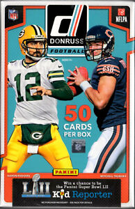 2017 Panini Donruss Football Cards Hanger Box