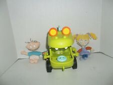 1998 nickelodeon rugrats reptar dinosaur car vehicle and plush doll lot