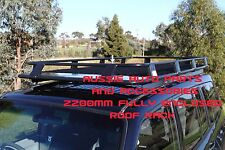 Fully Enclosed Deluxe Steel Roof Rack 2200mm for MITSUBISHI Pajero NM-NP 00-06