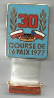 Orig.Pin    XXX.Internationale Friedensfahrt 1977  -  VERANSTALTER  !!  RARITÄT