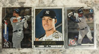 Aaron Judge Lot Of 3 2020 Topps Bowman Chrome Yankees Base #50 #13