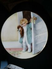 Bessie Pease Gutmann A Childs Best Friend Collector Plate Series. Good Morning.