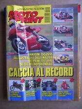 MOTOSPRINT n°6  1994       [Q18]  TEST ENDURO HUSQVARNA TE 350-TE 610