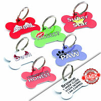 Cute Custom Pet ID Tags Personalised Dog Tags Cat Name Tag Pet Tag Engraved Free
