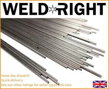 Weldright 10 X Aluminium Alu 1050 Tig Schweißelektroden 3.2mm