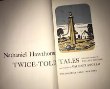 Nathaniel Hawthorne Twice Told Tales In Case 1966 Heritage Press Angelo