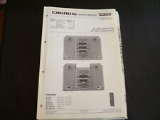 ORIGINALI service manual Grundig M 30 M 30-r