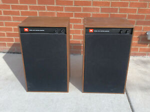JBL 4312A controler monitor speakers pair rare vintage
