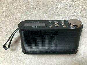 ROBERTS PLAY 10 DAB / DAB+ / FM RDS DIGITAL PORTABLE RADIO IN BLACK - NEARLY NEW