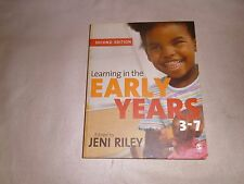 Learning in the Early Years, 3-7 by SAGE Publications Ltd (Paperback, 2007)