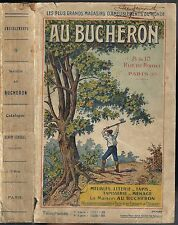 Au BUCHERON 10 rue de RIVOLI Catalogue de illustré de 1056 pages 1910-1920 RARE