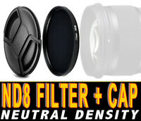 FILTRO NEUTRAL DENSITY ND8 FILTER NEUTRO ADATTO A Sony FE 24-105mm F4 G OSS 77M