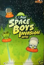 "SKANSEN Ci-BOYS SPACE INVASION ""WHICH WILL YOU GET??  MYSTERY QTY OF 4 CI BOYS"