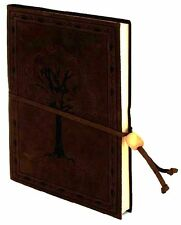 TREE OF VALINOR DARK BROWN LEATHER JOURNAL  ~ TOLKIEN ~ LORD OF THE RINGS