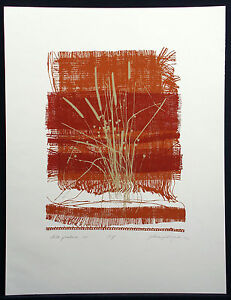 """De la Pradera IV"" Hand Signed Fine Art Serigraph southwestern Submit Offer"