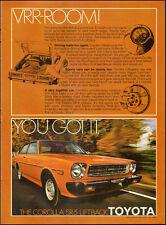 1978 TOYOTA Corolla SR-5 Liftback`red`2-door` Print Ad (061714)