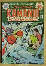 "DC Comics ""KAMANDI"" THE LAST BOY ON EARTH  # 22, Photos Show Good Condition"
