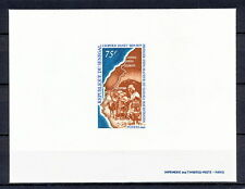 DELUXE 375 SENEGAL 1969 CAMEL EXPLORER OF SAHARA MAURITANIA  PROOF IMPERF MNH