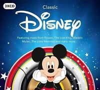 Official Classic DISNEY 3CD SET - Theme songs, Movies - Frozen etc. Gift Idea