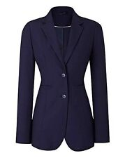 LADIES NAVY BI-STRETCH  SUIT  JACKET UK SIZE 20 EU16  US18 100% POLYERSTER