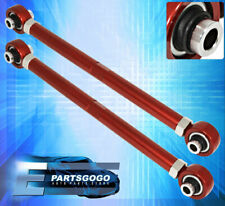 For 06-12 BMW E90 E92 3 Series Red Adjustable Camber Control Arm Suspension