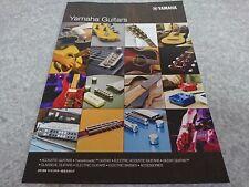 YAMAHA GUITARS 2018 General Catalog New F/S From Japan