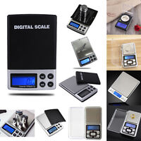 Pocket Digital LCD Electronic Balance Weight Jewelry Gold Silver Diamond Scales