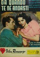 FILM ROMANZO N.6bis DA QUANDO TE NE ANDASTI