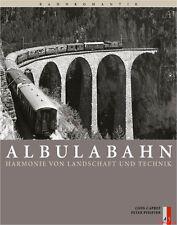 Fachbuch Albulabahn, Harmonie von Landschaft und Technik, BILLIGER, NEU
