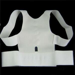 Back Brace Posture Corrector Shoulder Straighten Belt Adjustable Unisex Health