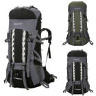 80L Large Outdoor Sports Backpack Waterproof Hiking Travel Internal Frame Bag