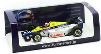 TR002 SPARK 1:43 FORZA Williams Honda FW09B test N.Mansell Suzuka 1985.03.12 #5