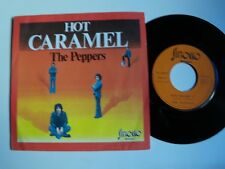 "THE PEPPERS : Hot caramel / Blue Ballade 7"" 45T 1974 French SIROCCO 48.007"