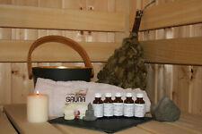 Saunaaufguss Set 5x 10ml nach Wahl Aufgußkonzentra Saunaduft Saunaaufguß Aufguss
