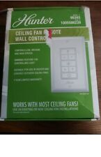 Hunter Ceiling Fan Remote Wall Control Kit Receiver / White 99393
