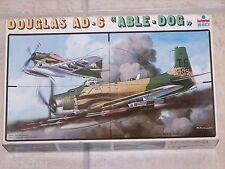 """Maquette ESCI 1/48ème DOUGLAS AD-6 """"ABLE-DOG"""" n° 4040"""