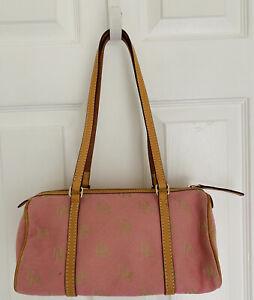 Dooney and & Bourke pink logo Small Purse Handbag bag