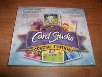 Hallmark Card Studio Special Edition CD ROM Software Windows 98/ME/2000/XP NEW