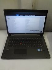 "HP EliteBook 8760w 17.3"" Core i7 2.7GHz 8GB/250GB LINUX Laptop *NO BATTERY*"