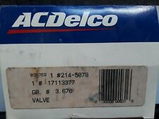 "214-5079 / 17113377 A/C Delco ""New"" EGR Valve Cadillac Chevy Oldsmobile"