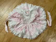 Vtg Lid'l Dolly Full Circle Ruffle Frilly Party Pageant Dress Size 2T Euc