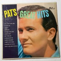 Pat Boone ‎– Pat's Great Hits: Dot Records 1957 Vinyl LP Compilation (Pop)