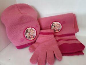 Soy luna tris sciarpa berretto guanti
